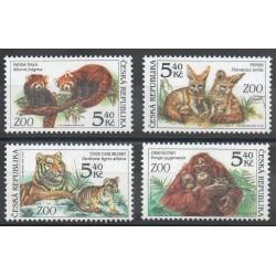 Tchèque (République) - 2001- No 281/284 - Animaux