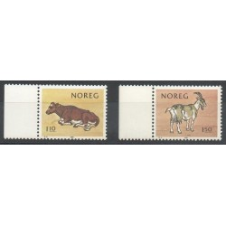 Norway - 1981- Nb 790/791 - Animals