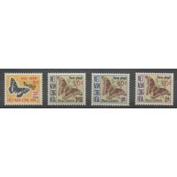 Vietnam du sud - 1974 - No T21/T24 - Insectes