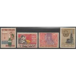 Vietnam du sud - 1967 - No 314/317 - Artisanat ou métiers