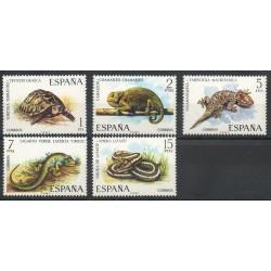 Espagne - 1974- No 1847/1851 - Animaux