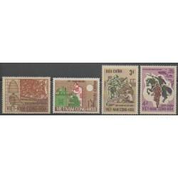 Vietnam du sud - 1966 - No 297/300 - Histoire