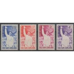 Vietnam du sud - 1961 - No 161/164 - Histoire