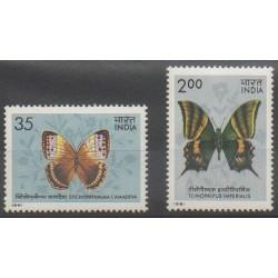 Inde - 1981 - No 685/686 - Insectes