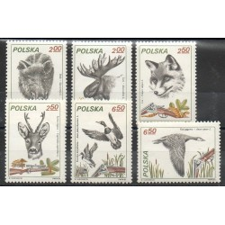 Pologne - 1981- No 2562/2567 - Animaux
