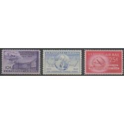 États-Unis - 1949 - No PA41/PA43 - Service postal