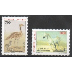 Tunisie - 2015- No 1764/1765 - Chevaux