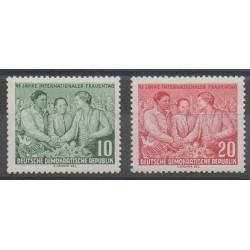 East Germany (GDR) - 1955 - Nb 187/188