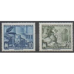 Allemagne orientale (RDA) - 1955 - No 213/214 - Exposition