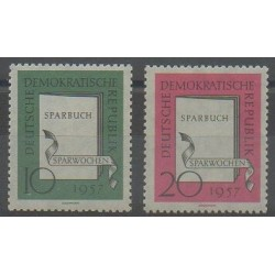 East Germany (GDR) - 1957 - Nb 323/324