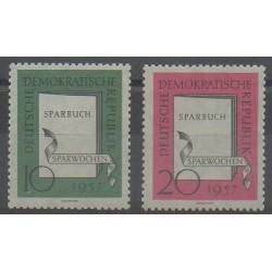 Allemagne orientale (RDA) - 1957 - No 323/324