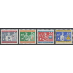 East Germany (GDR) - 1960 - Nb 515/518 - Science