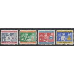 Allemagne orientale (RDA) - 1960 - No 515/518 - Sciences et Techniques