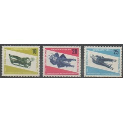 Allemagne orientale (RDA) - 1966 - No 853/855 - Sports divers
