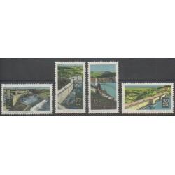 Allemagne orientale (RDA) - 1968 - No 1096/1099 - Sciences et Techniques