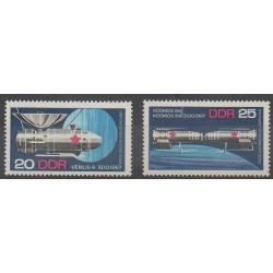 East Germany (GDR) - 1968 - Nb 1040/1041 - Space