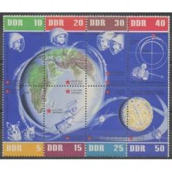 Allemagne orientale (RDA) - 1962 - No 638/645 - Espace