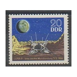 East Germany (GDR) - 1966 - Nb 864 - Space