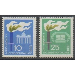 Allemagne orientale (RDA) - 1968 - No 1073/1074 - Sports divers