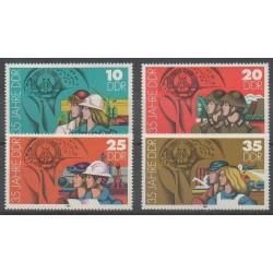Allemagne orientale (RDA) - 1984 - No 2530/2533