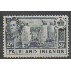 Falkland - 1937 - Nb 86 - Polar - Birds