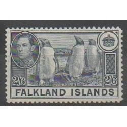 Falkland - 1937 - No 86 - Polaire - Oiseaux