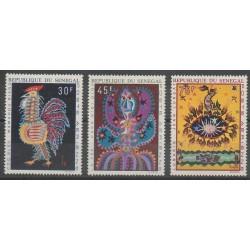 Senegal - 1970 - Nb PA86/PA88 - Art