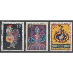 Sénégal - 1970 - No PA86/PA88 - Art
