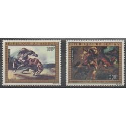 Sénégal - 1974 - No PA140/PA141 - Peinture