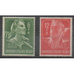 Germany - 1944 - Nb 819/820
