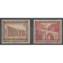Germany - 1936 - Nb 586/587 - Bridges