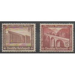Allemagne - 1936 - No 586/587 - Ponts