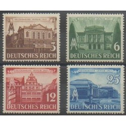 Germany - 1941 - Nb 688/691 - Exhibition