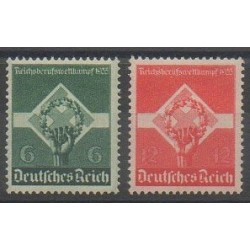Germany - 1935 - Nb 530/531