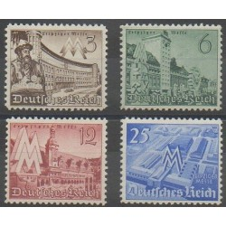 Germany - 1940 - Nb 663/666 - Exhibition