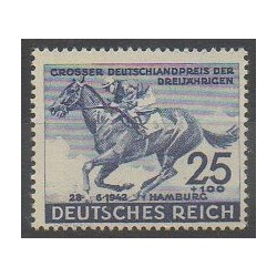 Germany - 1942 - Nb 738 - Horses - Various sports