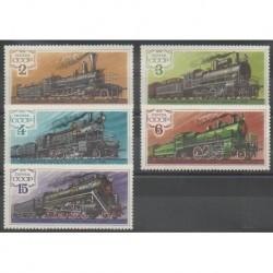 Russia - 1979 - Nb 4577/4581 - Trains