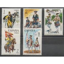 Spain - 1974 - Nb 1852/1856 - Military history