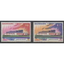 Denmark - 1973 - Nb 554/555 - Postal Service