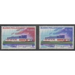 Finlande - 1973 - No 690/691 - Service postal