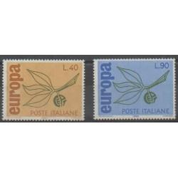 Italie - 1965 - No 928/929 - Europa
