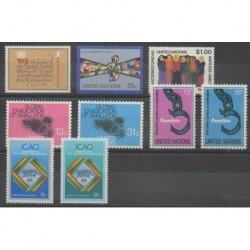 Nations Unies (ONU - New-York) - 1978 - No 283/291