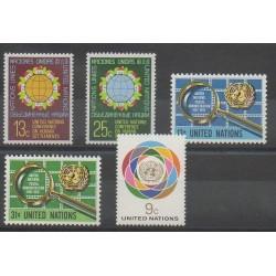 Nations Unies (ONU - New-York) - 1976 - No 267/271