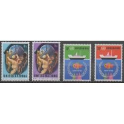 Nations Unies (ONU - New-York) - 1974 - No 245/248