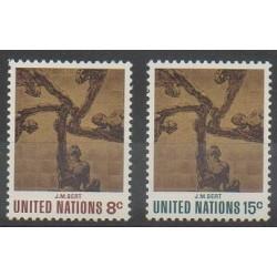 United Nations (UN - New York) - 1972 - Nb 225/226 - Various Historics Themes