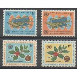Nations Unies (ONU - New-York) - 1966 - No 151/154