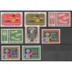 Nations Unies (ONU - New-York) - 1964 - No 125/132