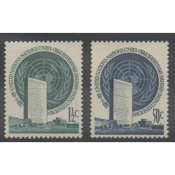 Nations Unies (ONU - New-York) - 1951 - No 2 et 10 - Nations unies