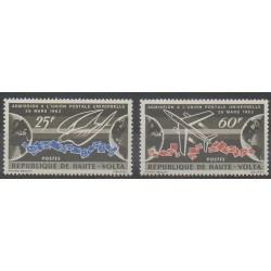 Haute-Volta - 1964 - No 133/134 - Service postal