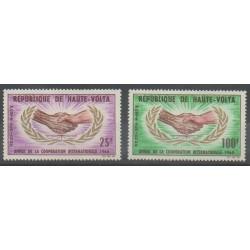 Upper Volta - 1965 - Nb PA23/PA24